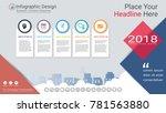 business infographics template  ... | Shutterstock .eps vector #781563880