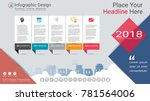 business infographics template  ... | Shutterstock .eps vector #781564006
