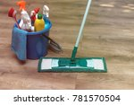 cleaning products  household... | Shutterstock . vector #781570504