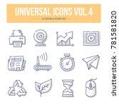 doodle vector universal generic ... | Shutterstock .eps vector #781581820