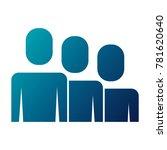 portrait business people... | Shutterstock .eps vector #781620640
