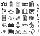 Architecture Icons. Set Of 25...