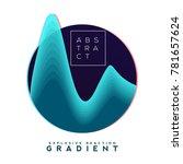 explosive gradient banner... | Shutterstock .eps vector #781657624