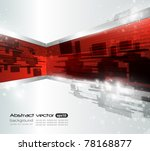 abstract vector wave background | Shutterstock .eps vector #78168877