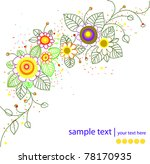 vector abstract background | Shutterstock .eps vector #78170935