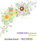 vector abstract background | Shutterstock .eps vector #78170935