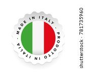 Made in Italy - Italian language Prodotto in Italia