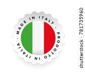 made in italy   italian...   Shutterstock .eps vector #781735960