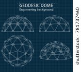 Drawing Blueprint Geodesic...