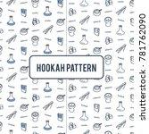 hookah pattern from forceps ... | Shutterstock .eps vector #781762090