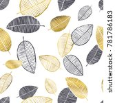 vector seamless pattern with... | Shutterstock .eps vector #781786183