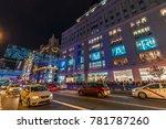 madrid  spain   december 26 ... | Shutterstock . vector #781787260