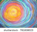Colorful Spiral Sun Power...