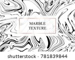 vector marble background.... | Shutterstock .eps vector #781839844