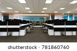 the interior style office... | Shutterstock . vector #781860760
