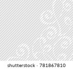 abstract background with... | Shutterstock .eps vector #781867810