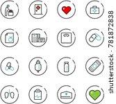 line vector icon set   baby...   Shutterstock .eps vector #781872838