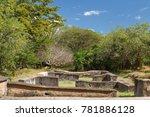 ruins of leon viejo  unesco... | Shutterstock . vector #781886128