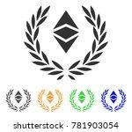 ethereum classic laureal wreath ... | Shutterstock .eps vector #781903054