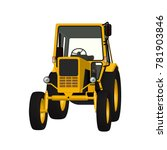 agricultural tractor vector... | Shutterstock .eps vector #781903846