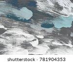 oil painting on canvas handmade.... | Shutterstock . vector #781904353