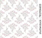 floral watercolor texture... | Shutterstock . vector #781906603
