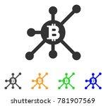 bitcoin full node icon. vector... | Shutterstock .eps vector #781907569