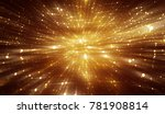 abstract gold background.... | Shutterstock . vector #781908814
