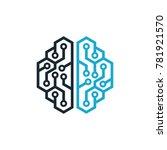 brain logo vector | Shutterstock .eps vector #781921570
