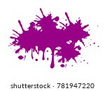purple color vector | Shutterstock .eps vector #781947220