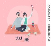 you and me. st valentine's...   Shutterstock .eps vector #781964920