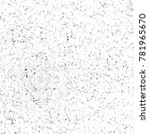grunge black and white pattern. ... | Shutterstock . vector #781965670