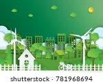 nature landscape background...   Shutterstock .eps vector #781968694
