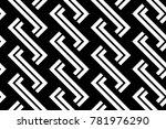 design seamless monochrome...   Shutterstock .eps vector #781976290