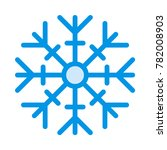 snow christmas and holidays | Shutterstock .eps vector #782008903