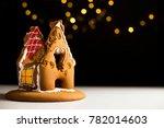 Broken Gingerbread House On...