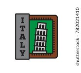 country badge and sticker | Shutterstock .eps vector #782021410