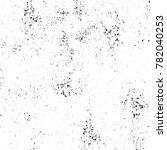 grunge black and white pattern. ... | Shutterstock . vector #782040253