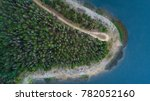 aerial view of trees and shore... | Shutterstock . vector #782052160