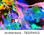 abstract watercolor texture.... | Shutterstock . vector #782054413