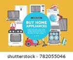 vector buy home appliance... | Shutterstock .eps vector #782055046