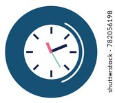 time  clock icons  vector...