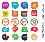 abstract modern sale vector... | Shutterstock .eps vector #782062966