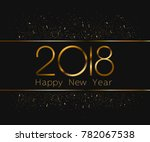 happy new year text design... | Shutterstock .eps vector #782067538