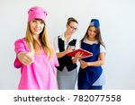 people of different professions | Shutterstock . vector #782077558