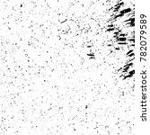 grunge black and white pattern. ... | Shutterstock . vector #782079589