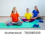 kids doing exercises