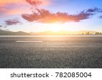 country road and hills natural... | Shutterstock . vector #782085004
