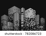 building and city illustration. ... | Shutterstock . vector #782086723