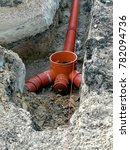 on the  building site pipes | Shutterstock . vector #782094736